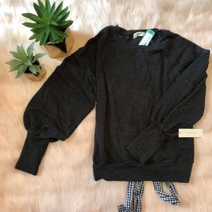 !MUST GO! NWT Sophie Rue Puff Sleeve Sweater